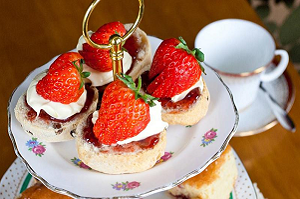 Afternoon Tea at the Gardener's Cottage, Tatton Park