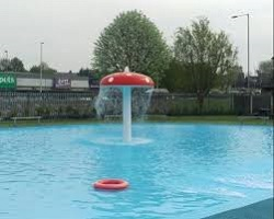 Church Walk Paddling Pool, Northwich