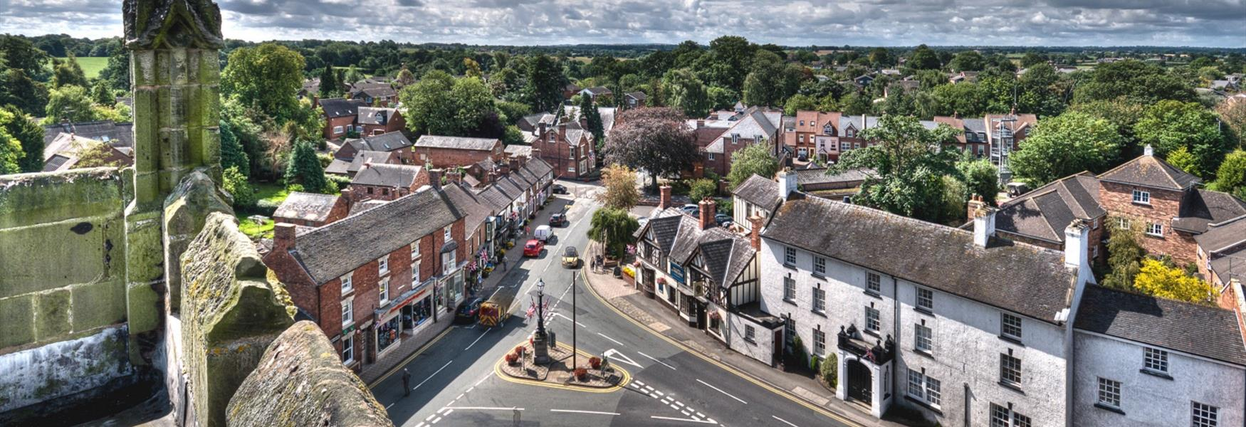 Explore the many villages in Cheshire