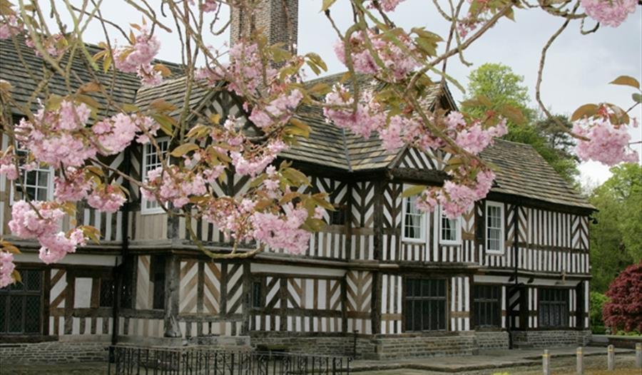 Adlington Hall Garden