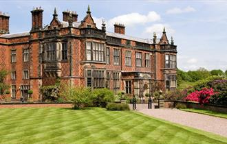 Stunning Exterior of Arley Hall & Gardens