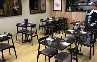 The Chef's Table Chester - Interior, Is a multi award winning independent restaurant in the heart of Chester city centre