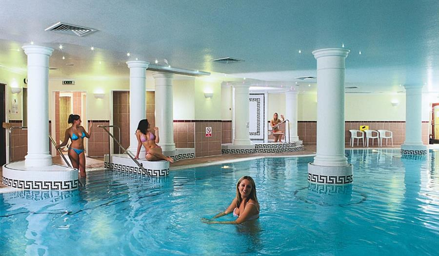 The pool at The Mill Hotel Spa