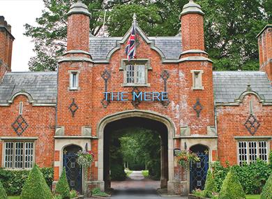 The Mere Golf Resort & Spa Entrance