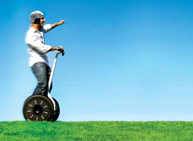 Segways at Cheshire Outdoors