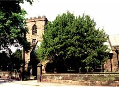 All Saints Church Daresbury - Birthplace of the author of 'Alice in Wonderland'.