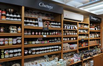 Delicious jams and chutneys at the Housekeepers Store, Tatton Park