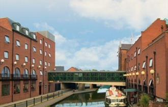 Mill Hotel & Spa Destination in it's waterside location
