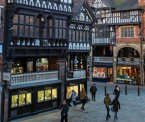 Independent shops in Chester