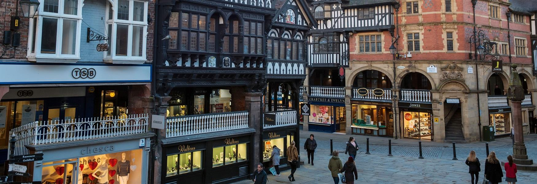 Shops on the Rows, Chester