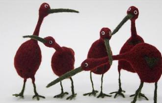 Quirky Bird Felting Workshop with Ruth Packham