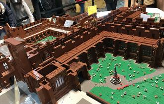Chester Cathedral in LEGO