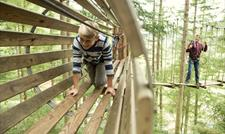 Get your adrenaline pumping at Go Ape! Delamere