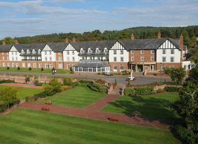 Carden Park Hotel, Golf Resort & Spa is located within 1000 acres of Cheshire countryside, offers an award winning spa & 2 championship golf courses