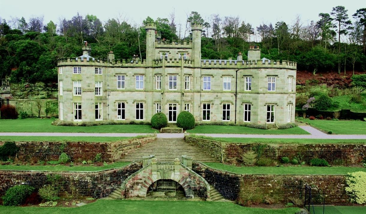 Beautiful Bolesworth Castle