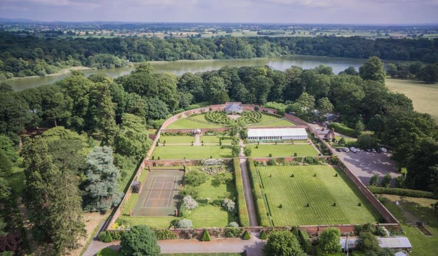 Combermere Abbey Gardens