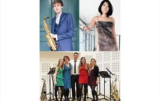 Concert by Jonathan Radford (Saxophone), Kaoli Ono (Piano) and the Chameleon Wind Ensemble
