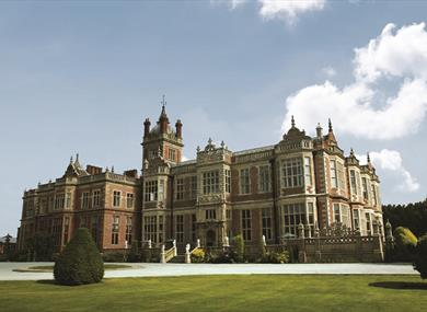 Crewe Hall, a stunning Grade I listed building