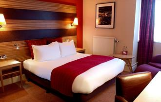 Executive Bedrooms at the Crowne Plaza Hotel, Chester