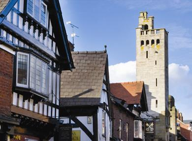 Knutsford and the Gaskell Tower