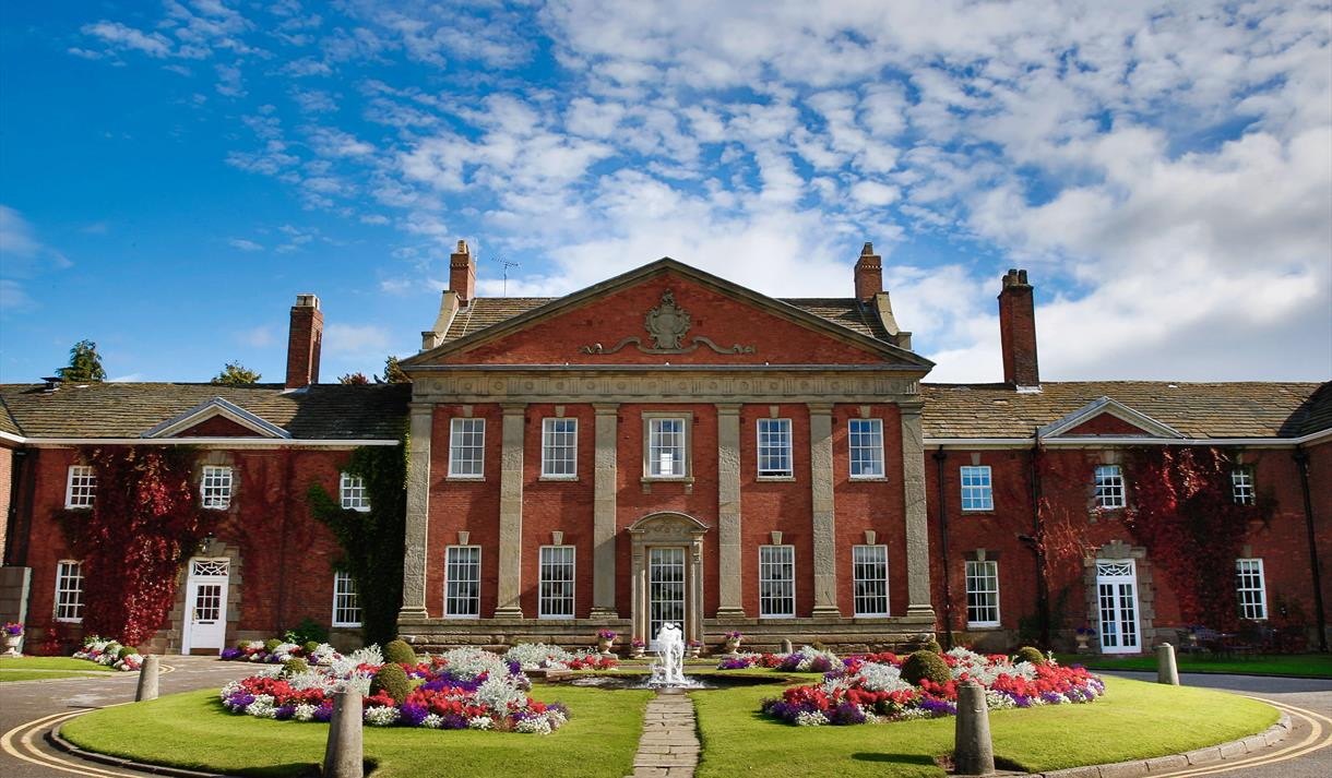 Mottram Hall Hotel, one of the finest hotels in Cheshire.