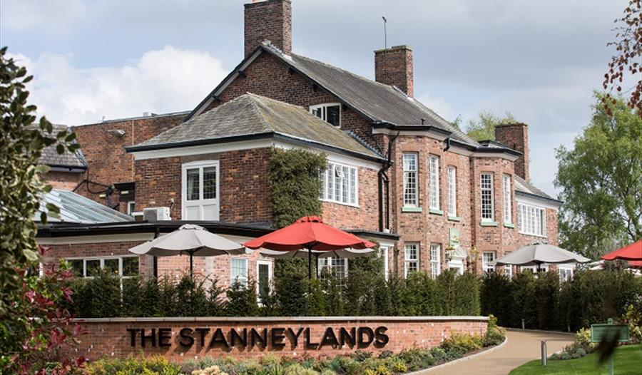 The Stanneylands exterior with fine reputation of classic British food