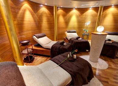 Treatment rooms at The Spa at The Chester Grosvenor