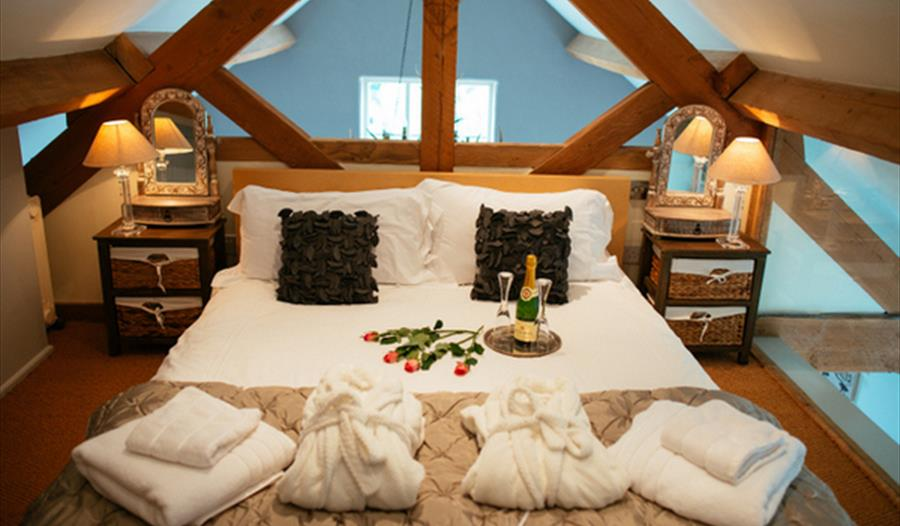 Stunning rooms at Cheshire Boutique 5*Barns