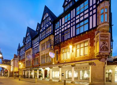 The Chester Grosvenor, situated in the heart of beautiful Chester