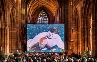 The Snowman Chester Cathedral