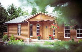 The Hollies Forest Lodges - The Spruce Lodge Exterior