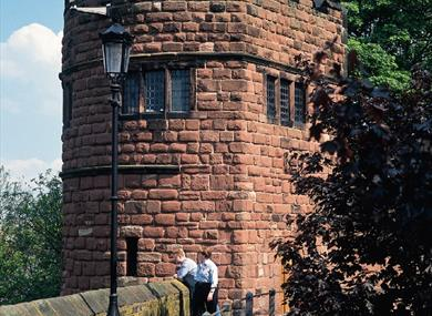 King Charles Tower can be seen on the Secret Chester Tour
