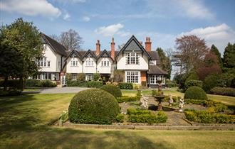 The Mere Court Hotel, set in the heart of Cheshire