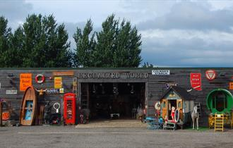 Main showroom exterior at Reclaimed World