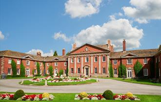 Stunning exterior at Mottram Hall