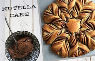 Young Bakers Club Nutella Flower Cake