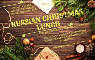Russian Christmas Lunch