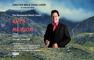 Chester Male Voice Choir in Concert With Rhys Meirion