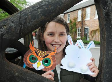 Colourful Spring Craft and Children's activities