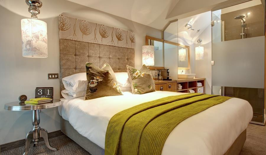 Contemporary bedrooms at Oddfellows
