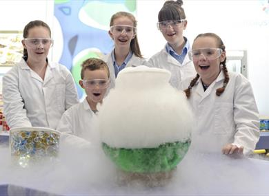 Interactive fun at Catalyst Science Discovery Centre