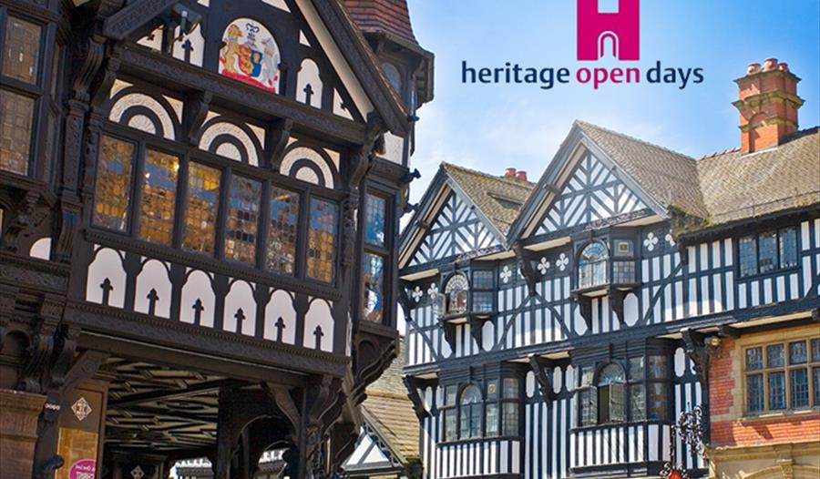Heritage open days, chester, history, heritage