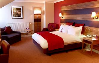 Bedroom at Crowne Plaza Chester