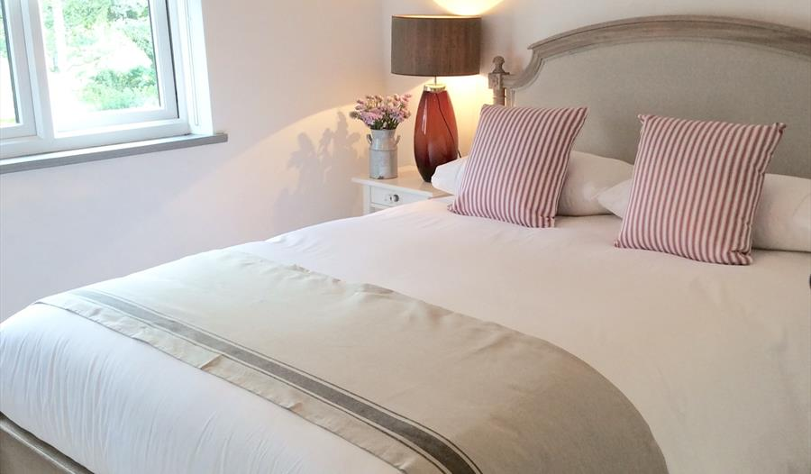 Stunning bedrooms at Yew Tree Farm Holidays