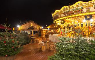 Christmas at Cheshire Oaks Designer Outlet
