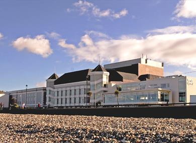 Image of Venue Cymru From Beach
