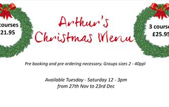 Christmas Lunches at Arthurs Kitchen