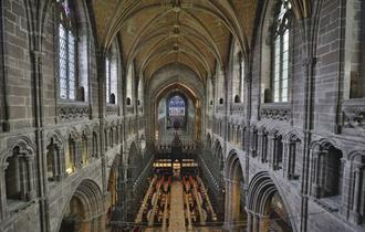 Cathedral at Height Tours at Chester Cathedral