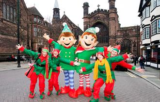 Meet chELFie and ELFie and pick up your Christmas Passport