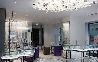 Boodles Jewellers interior Chester Showroom